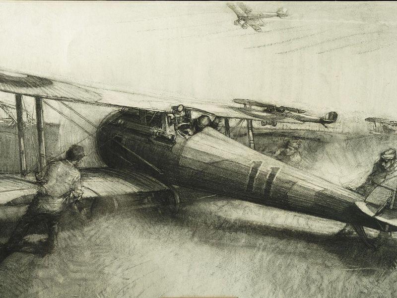 I Guerra - avião