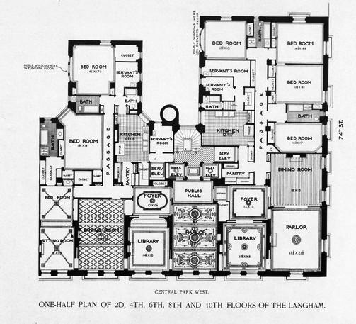 langham floor plan