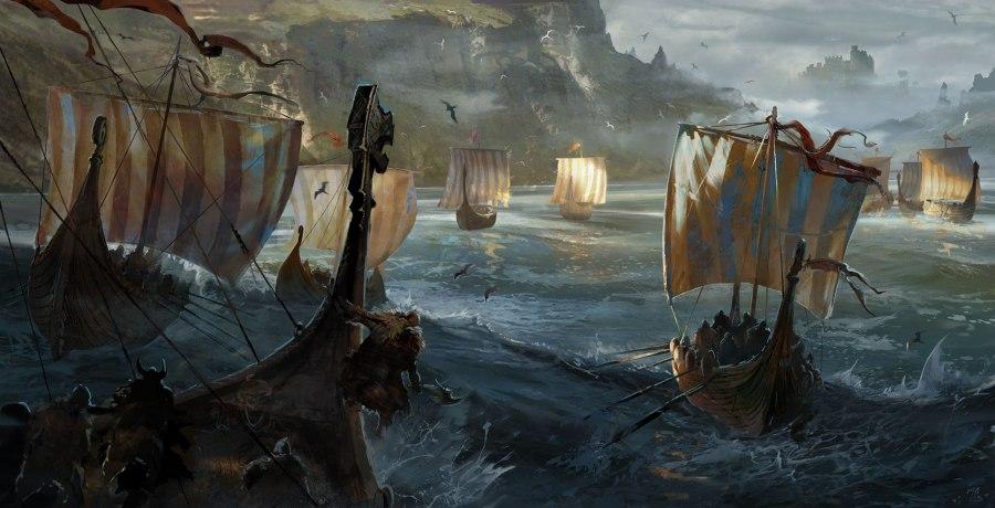 Vikings ships