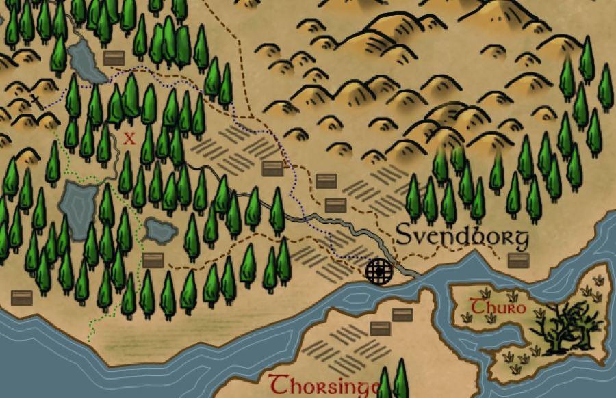 Arredores de Svendbog